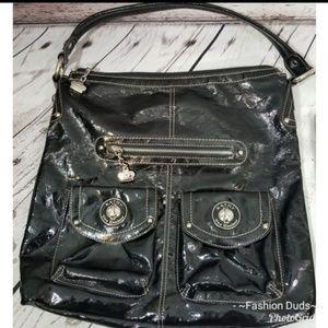 Kathy Van Zeeland Black Shoulder Bag Purse